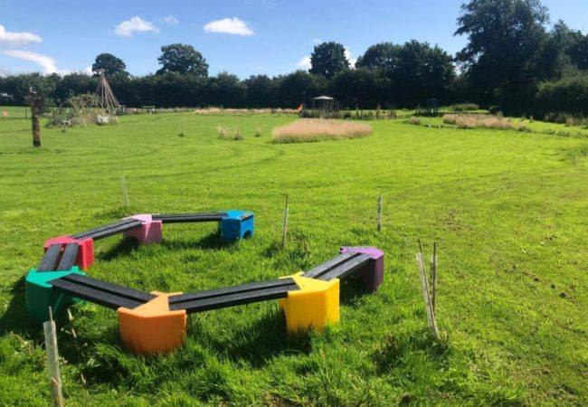 Picture of sensory garden at Access School in Shropshire